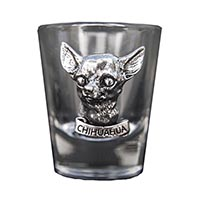 Chihuahua Shot Glass