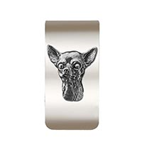 Chihuahua Money Clip