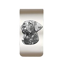Labrador Money Clip