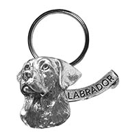 Labrador Large Key Chain