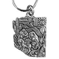 Arizona Puzzle Key Chain