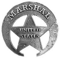 US Marsal Badges