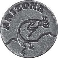 Arizona Kokopeli Ball Markers