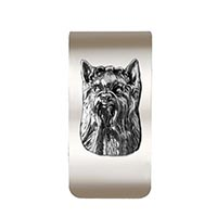 Yorkie Money Clip