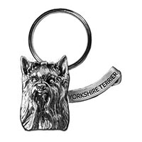 Yorkie Large Key Chain