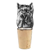 Yorkie Bottle Stopper
