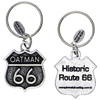 Oatman RT66 Key Chain