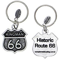 Kingman RT66 Key Chain