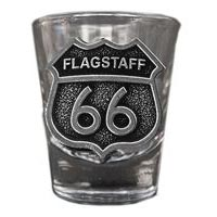 Flagstaff RT66 Shot Glass