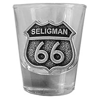 Seligman RT66 Shot Glass