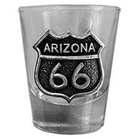 Arizona RT66 Shot Glass