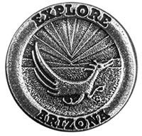 Explore Arizona Roadrunner Magnet