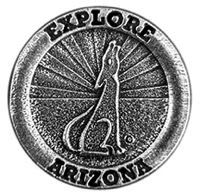 Explore Arizona Coyote Magnet