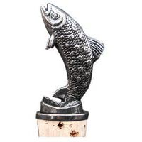 Trout Bottle Stopper