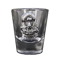 Poodle Shot Glass