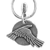 Eagle Moon Key Chain
