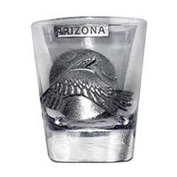Arizona Eagle Shot Glass