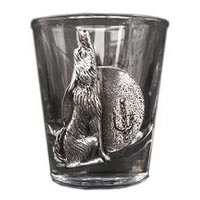Arizona Coyote Shot Glass