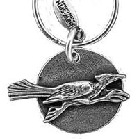 Roadrunner Moon Key Chain