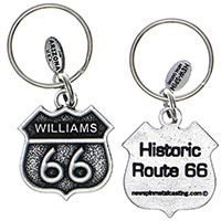Winslow RT66 Key Chain
