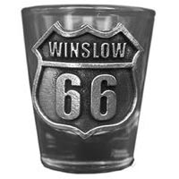 Winslow RT66 Shot Glass
