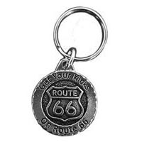 RT66 (Get Your Kicks) Keychain