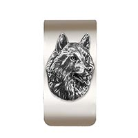 Husky Money Clip