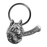 Husky Large Key Chain