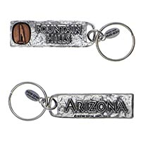 Fountain Hills, Arizona Petroglyph Key Chain