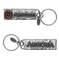 Cave Creek, Arizona Petroglyph Key Chain