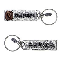 Florence, Arizona Petroglyph Key Chain