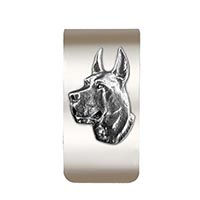 Great Dane Money Clip