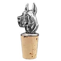 Great Dane Bottle Stopper