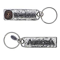 Wickenburg, Arizona Petroglyph Key Chain