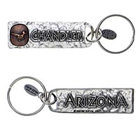 Chandler, Arizona Petroglyph Key Chain