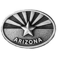Arizona Flag Oval Pin