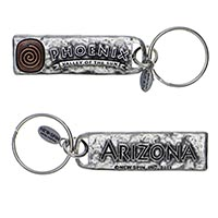 Phx Valley Of The Sun, Arizona Petroglyph Key Chain
