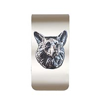 Corgi Money Clip
