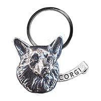 Corgi Large Key Chain