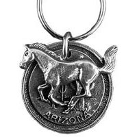 Arizona Mustang Key Chain
