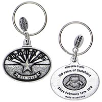Arizona Flag, Chandler Key Chain