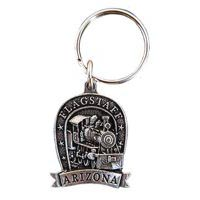 Flagstaff Locomotive Key Chain