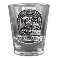 Grand Canyon Locomotive Shot Glass