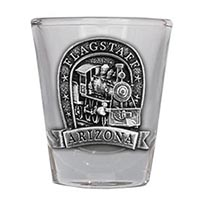 Flagstaff Locomotive Shot Glass