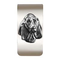 Basset Hound Money Clip