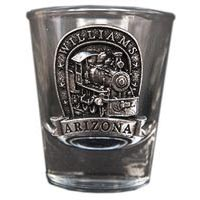 Williams Locomotive Shot Glass