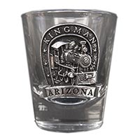 Kingman Locomotive Shot Glass
