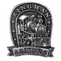 Kingman Locomotive Hat Pins