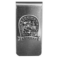 Kingman Locomotive Money Clip
