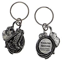 Winslow Western Key Chain